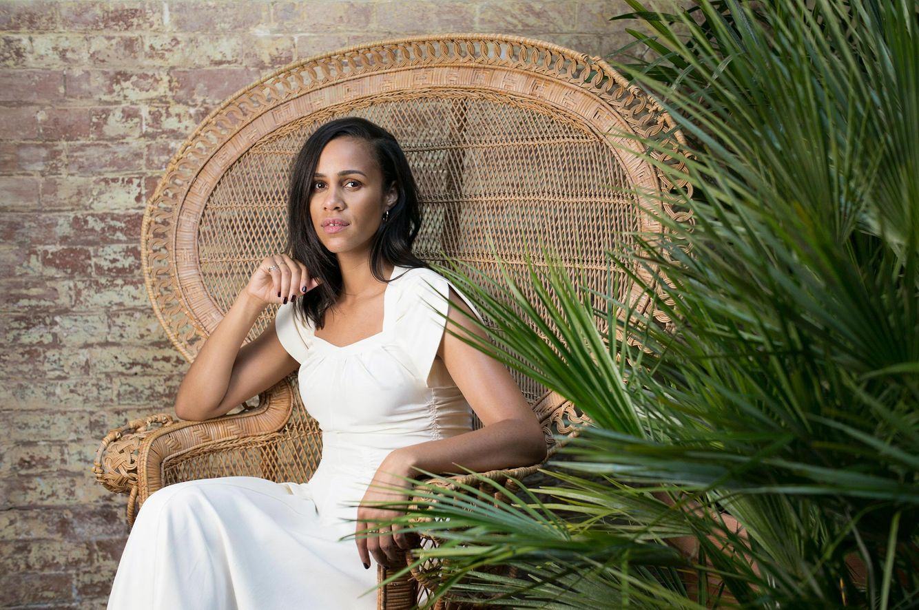 Actor, writer, producer and director Zawe Ashton