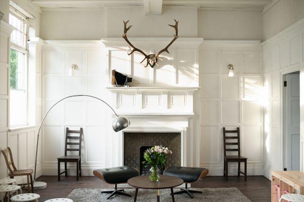 The home of artist Polly Morgan