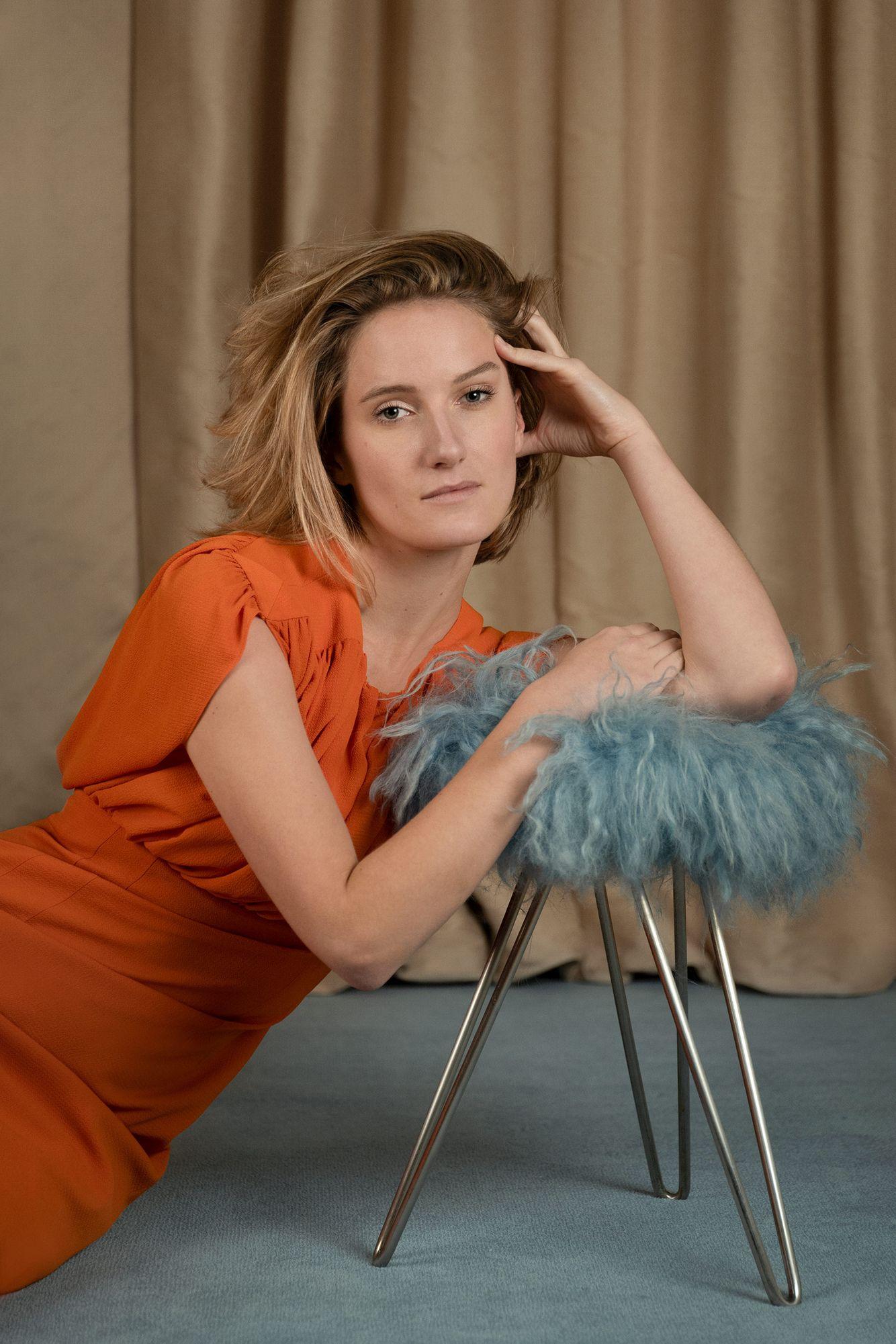 Actress Allegra Marland