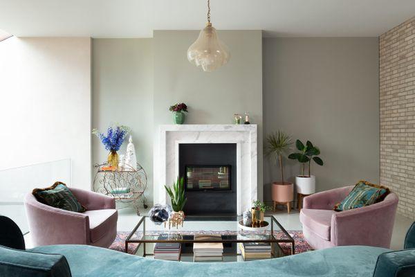The Hampstead home of designer Eftychia Georgillis