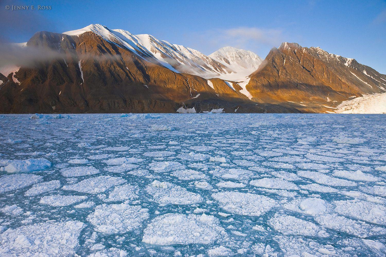 Bukhta Maka, Severny Island, northern Novaya Zemlya, Barents Sea, Russia