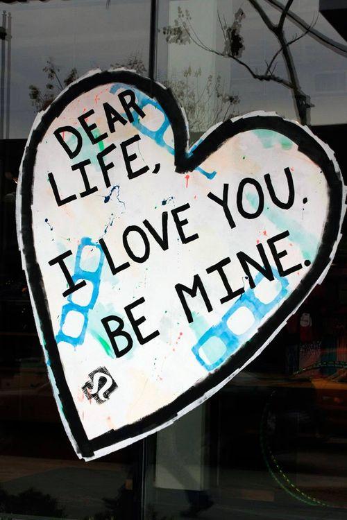 Dear Life.