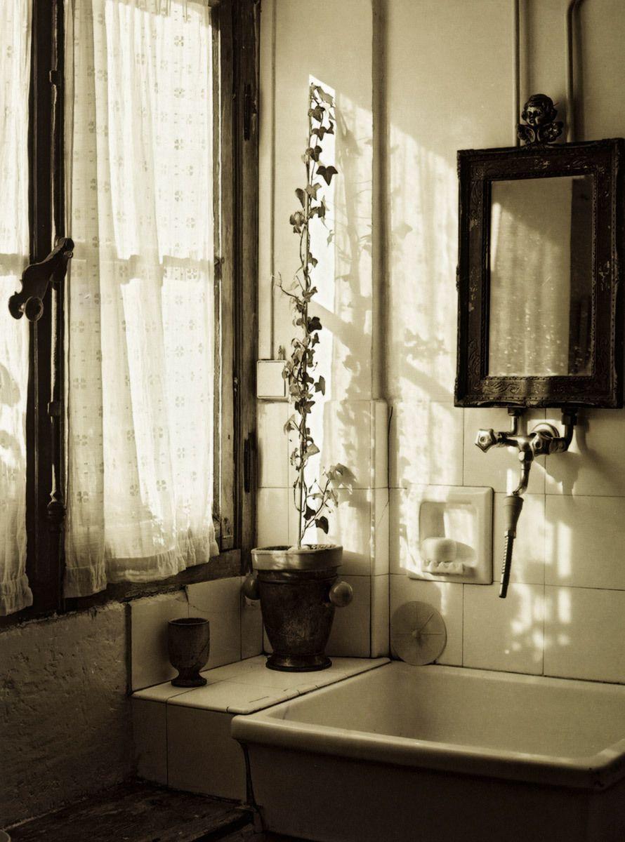 Beautifu; old french window, Paris, France.