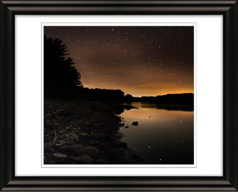 Framed 5478 Stars on Atkins Reservoir Shutesbury for livebooks.jpg