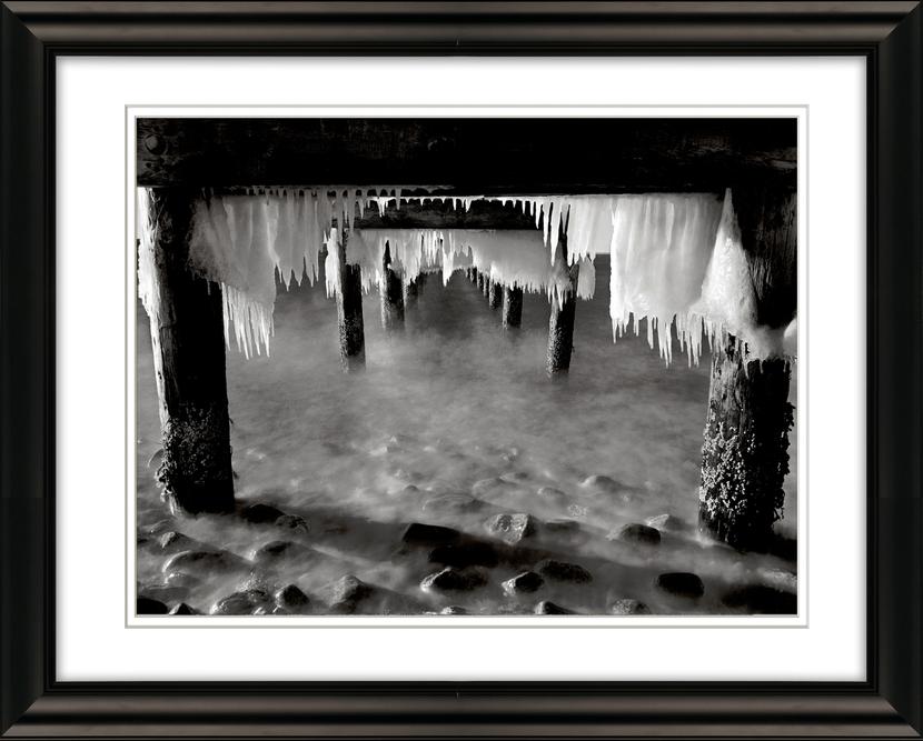 Ice Under Pier West Chop Oak Bluffs.jpg