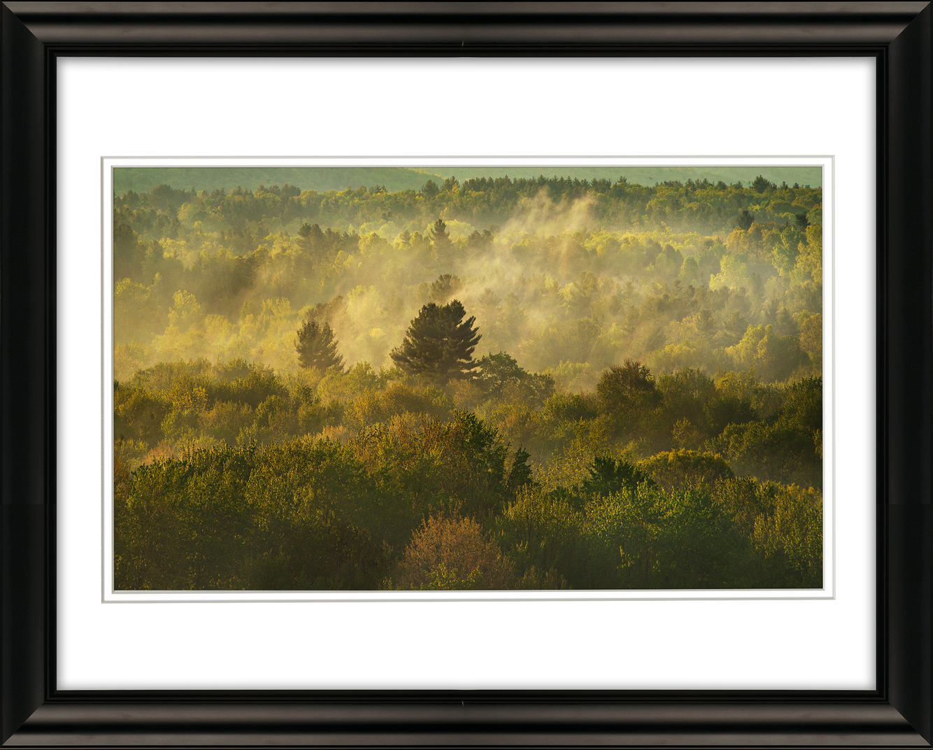 Frame 1957 MIST AT SUNRISE, SOUTH AMHERST, PIONEER VALLEY