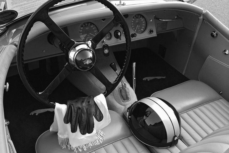 1953 Jaguar XK by John Wagner Photography