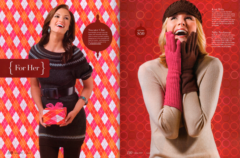 Macy's Fashion catalog by John Wagner Photography