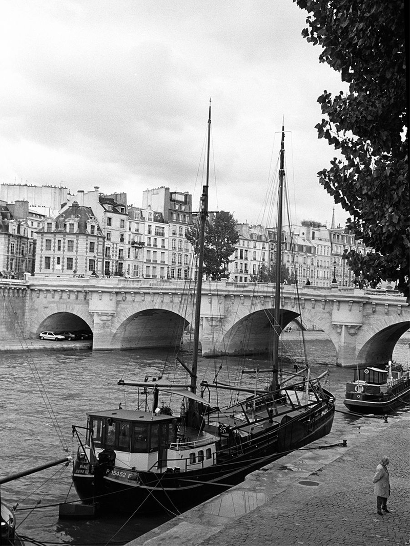 Pont Neuf Bridge, Paris France by John Wagner Photography