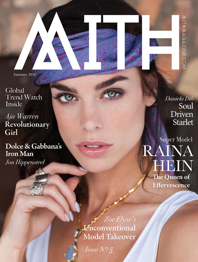 Raina Hein Mith Magazineby John Wagner