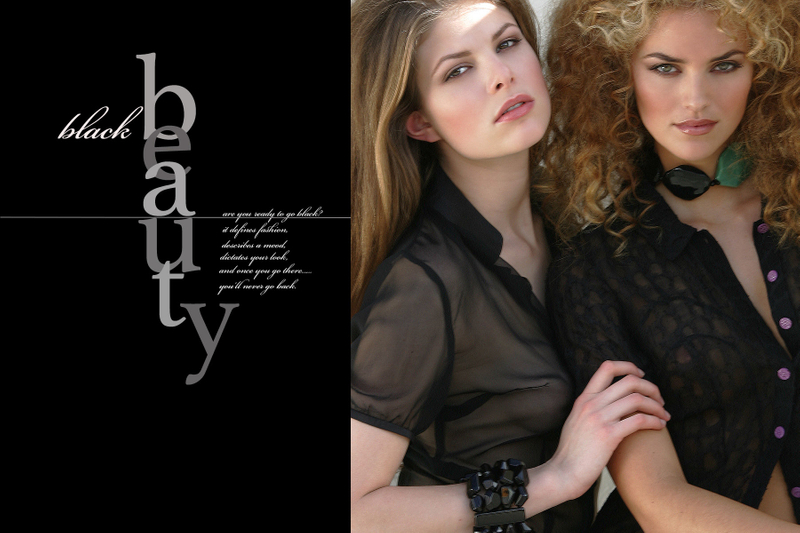Black Beauty Editorial with Helen Lindes by John Wagner Photography