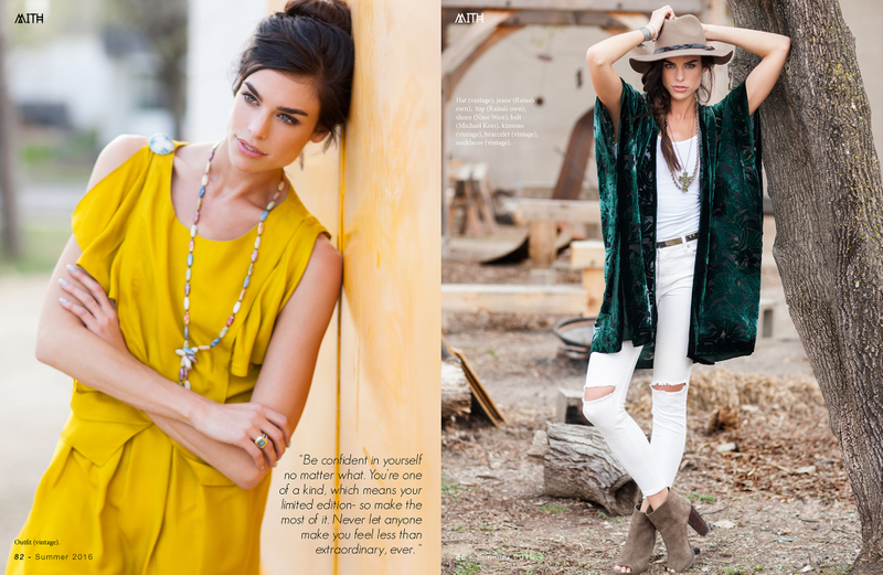 Raina Hein for Mith Magazine