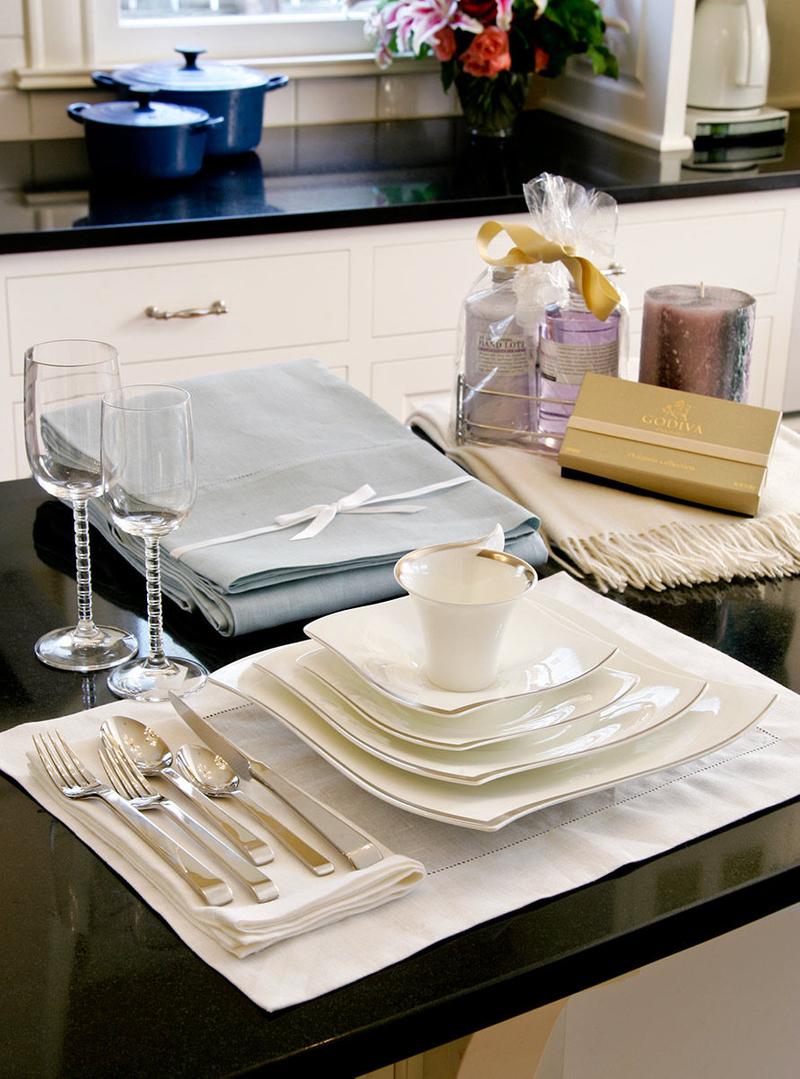 Dinnerware for Mpls StPaul Magazine