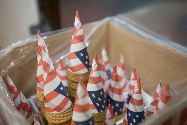 american cones