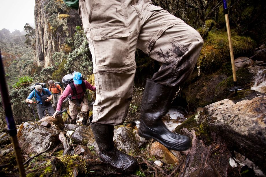 EDDIE BAUER EXPEDITION, RWENZORI MOUNTAINS, UGANDA