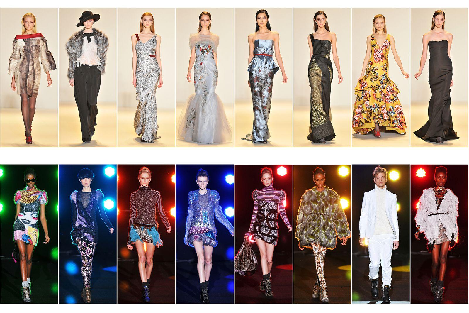 Carolina Herrera, Fall/Winter Collection New York Fashion Week.