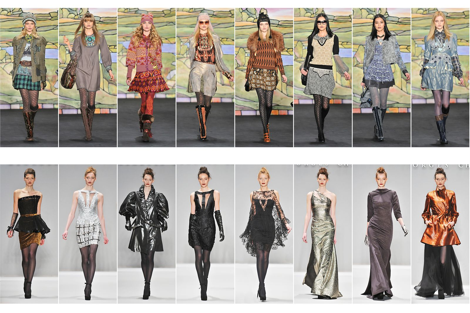 Anna Sui, Fall/Winter Collection New York Fashion Week.