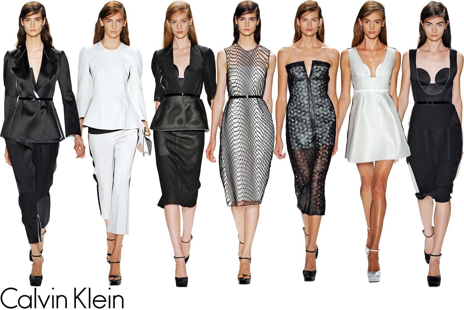 Calvin Klein Spring/Summer 2013 Collection