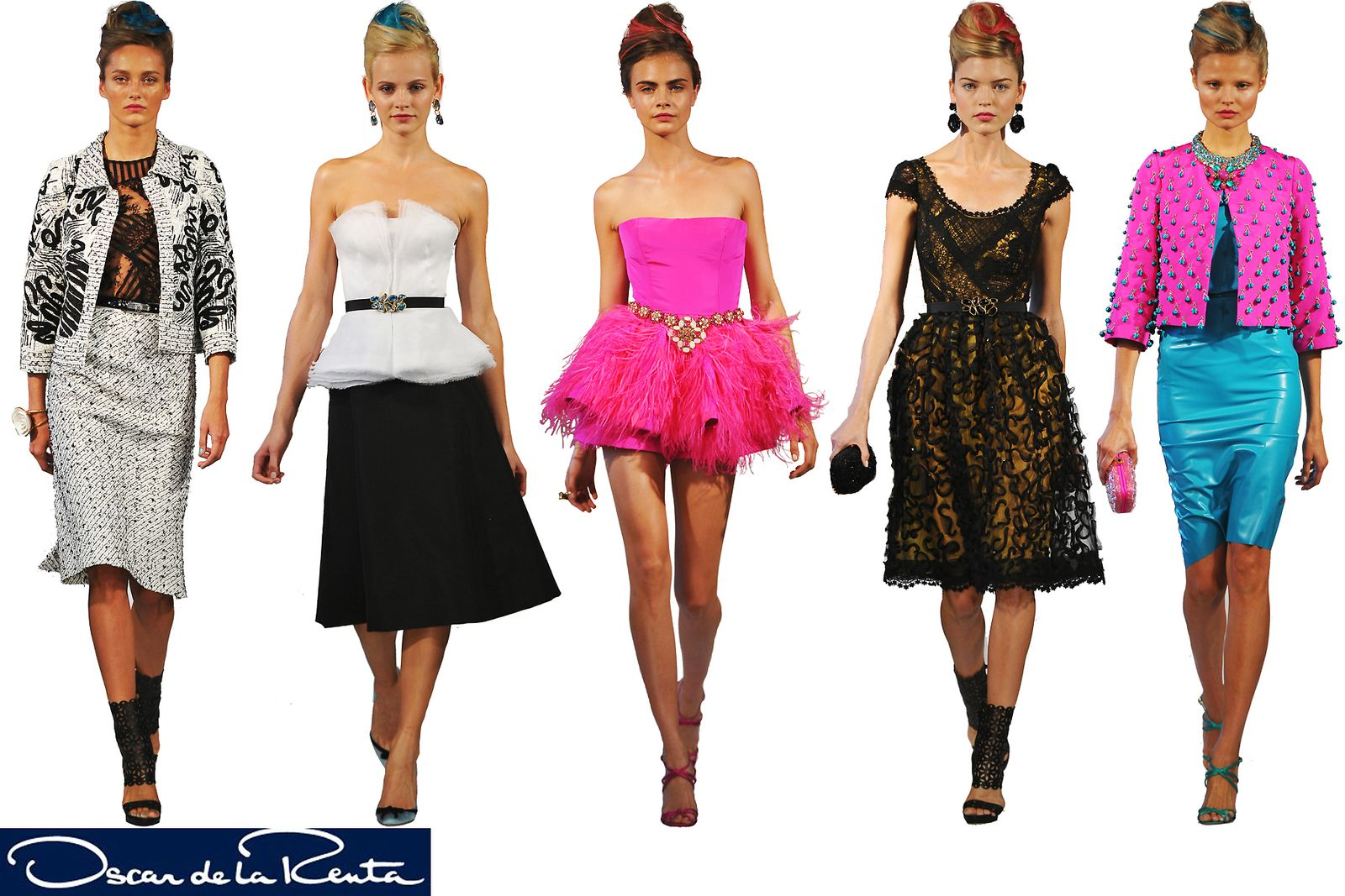 Oscar de la Renta 2013 Spring/Summer Collection