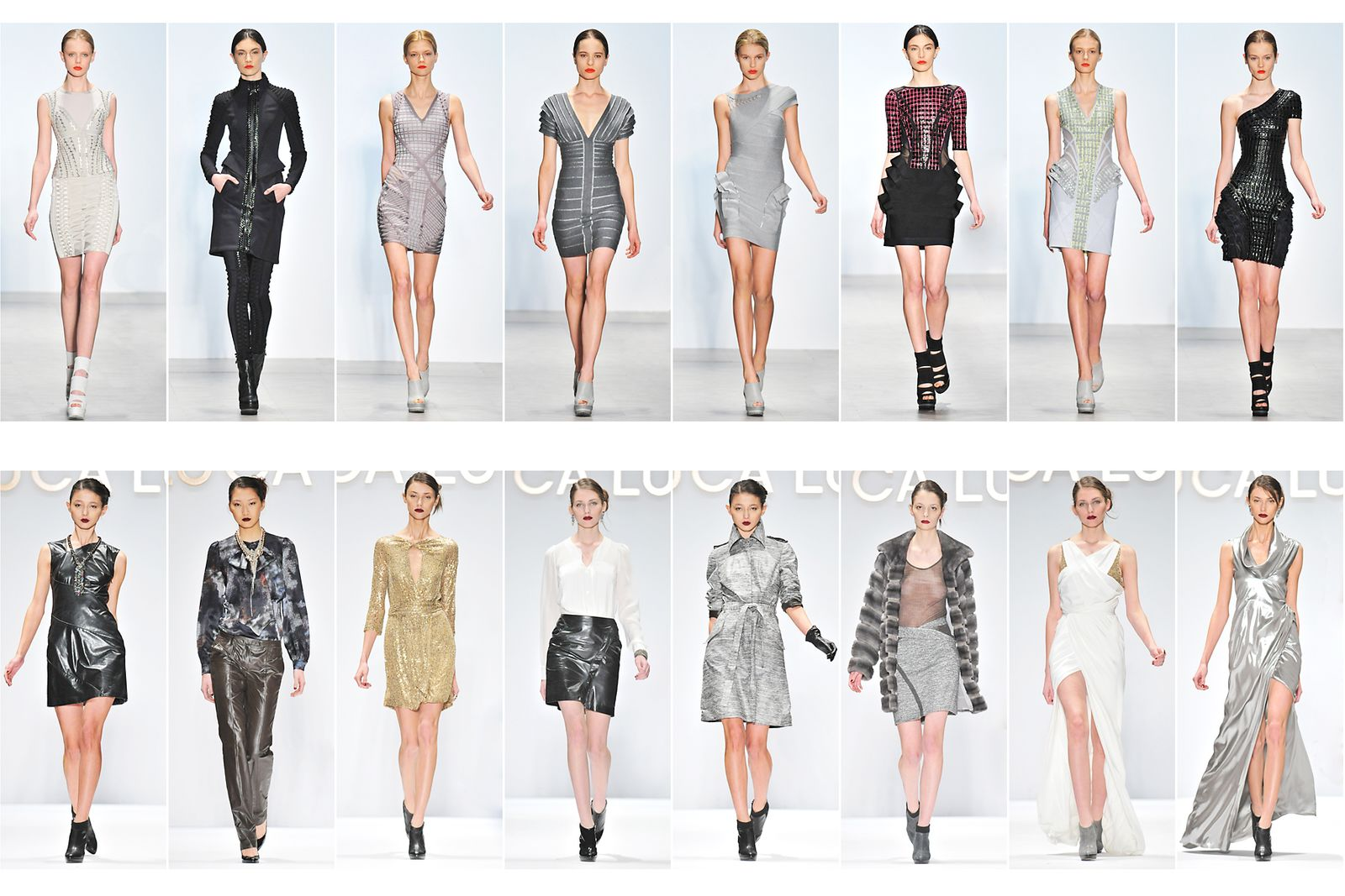 Herve Leger by Max Azria, Fall/Winter Collection New York Fashion Week.
