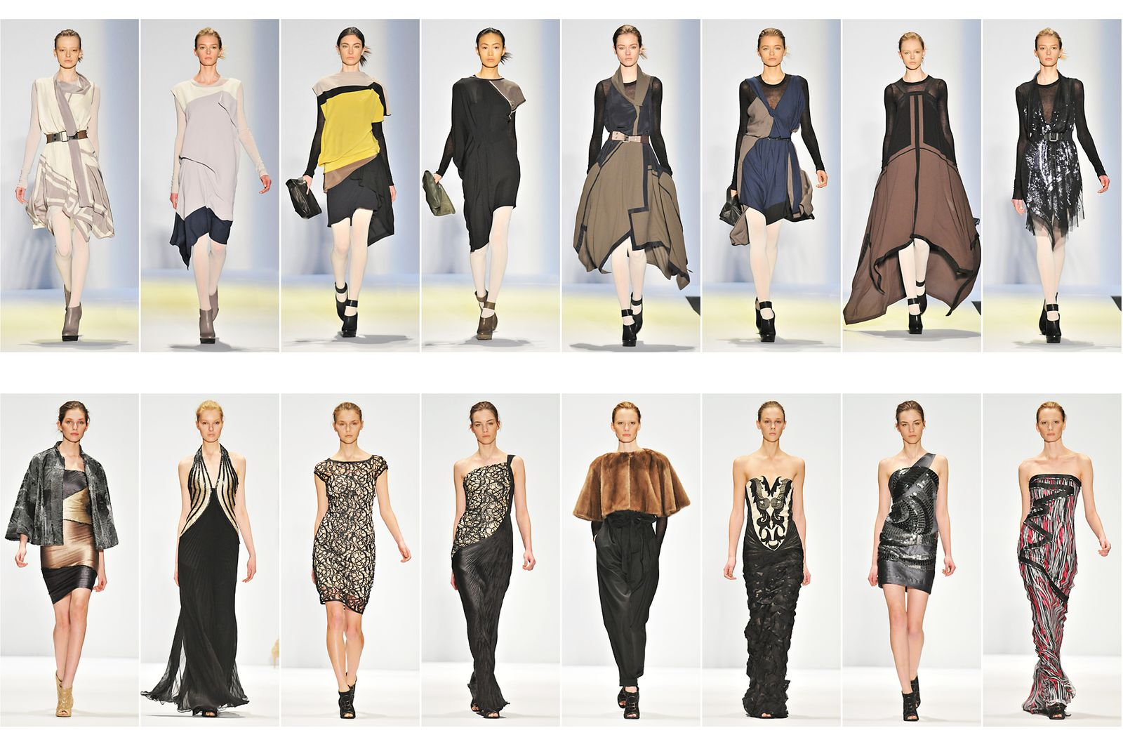 BCBG Azia, Fall and Spring Collection New York Fashion Week.