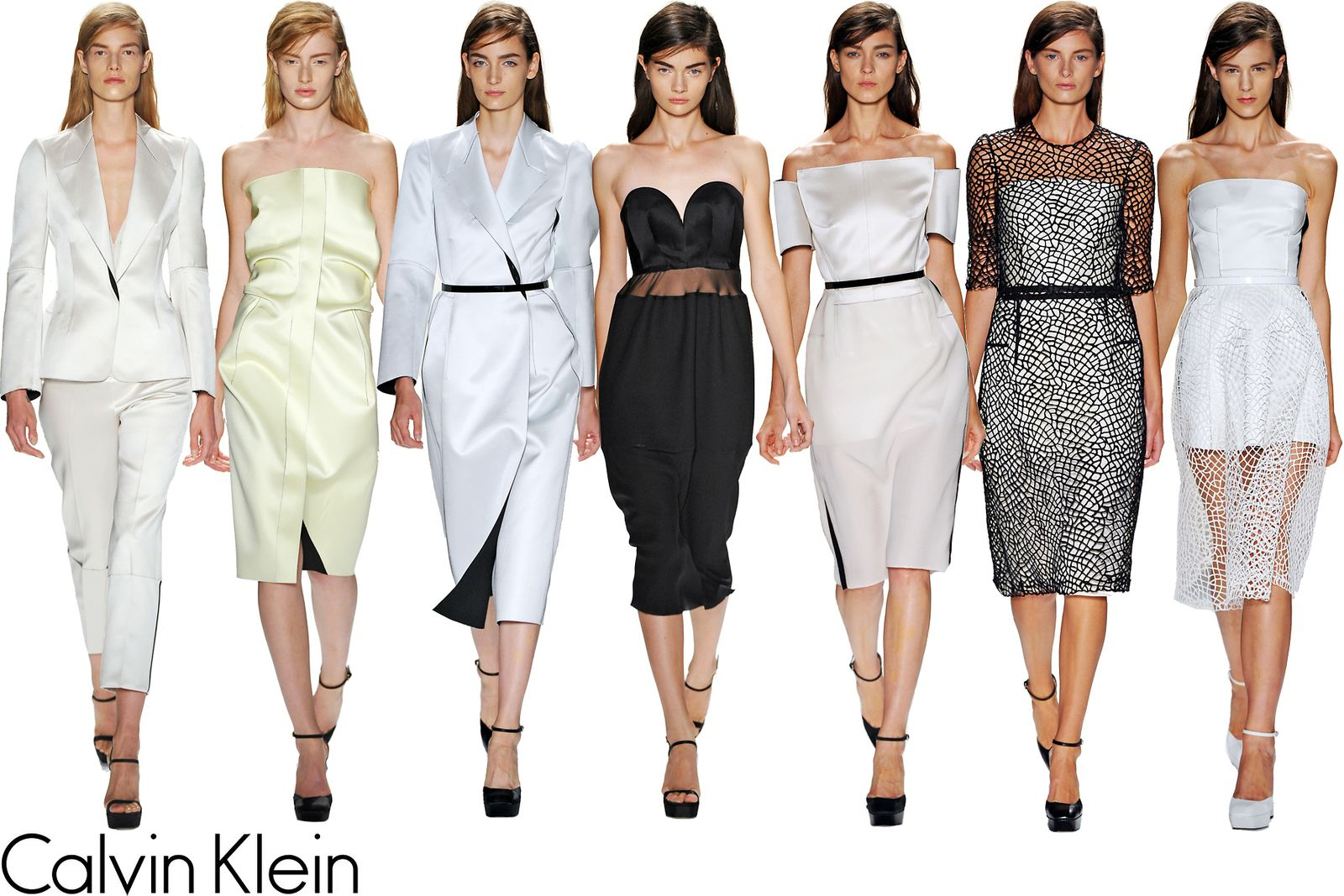 Calvin Klein Spring/Summer 2013 Collection in New York