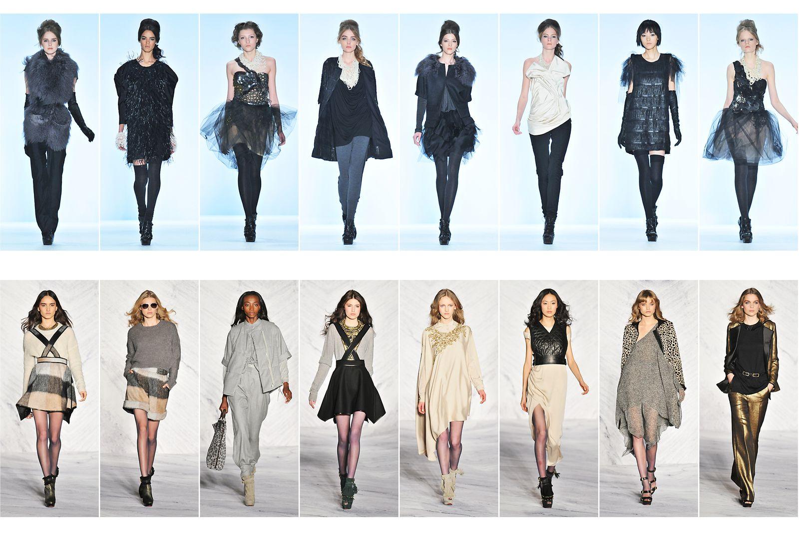 Vera Wang, Fall /Winter Collection New York Fashion Week.