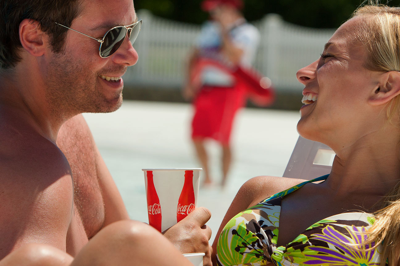 Poolside CokeCorporate Advertising Photography | Dallas TX - Robie Capps