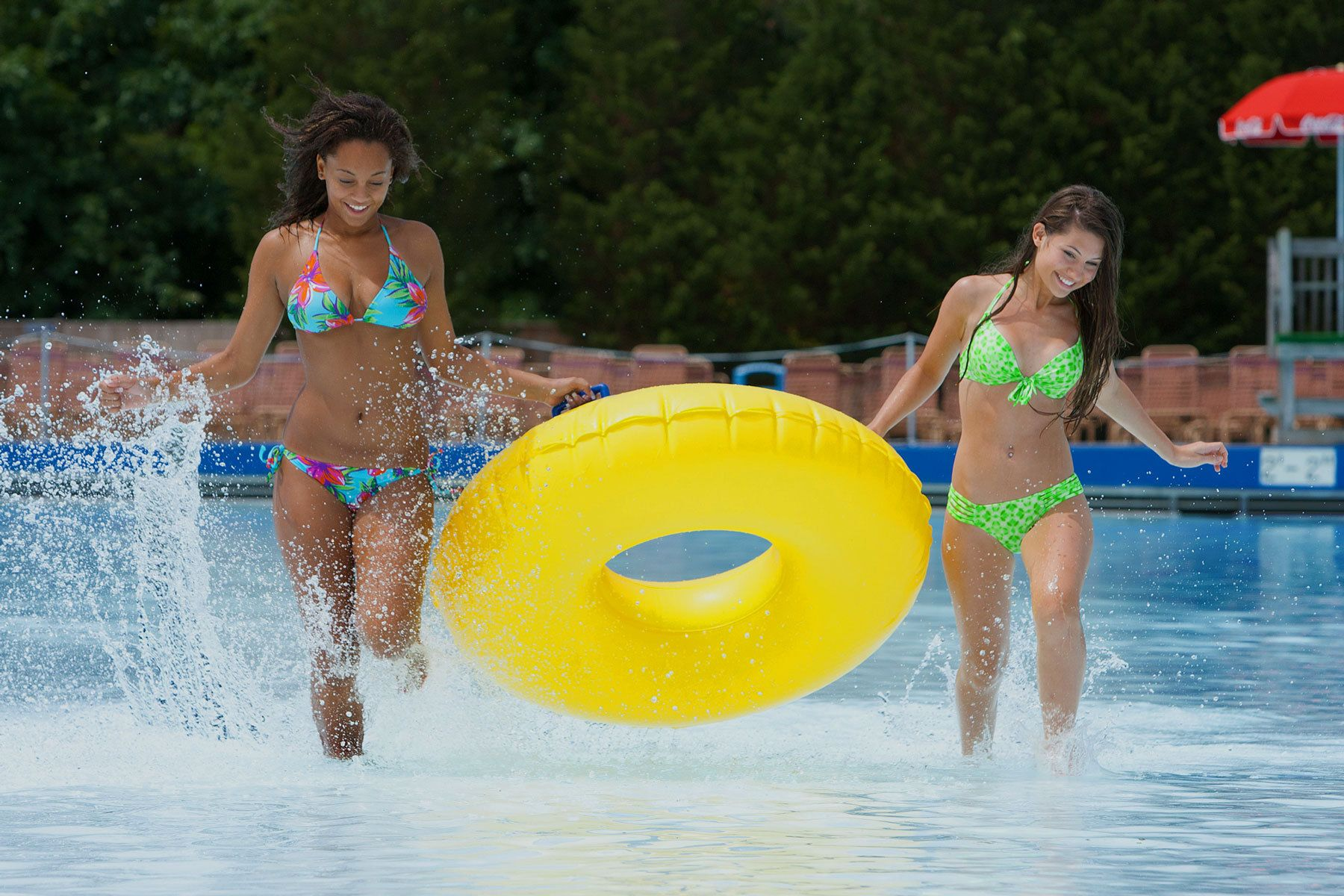 Corporate Advertising Photography | Dallas TX - Robie Capps  - Wave Pool