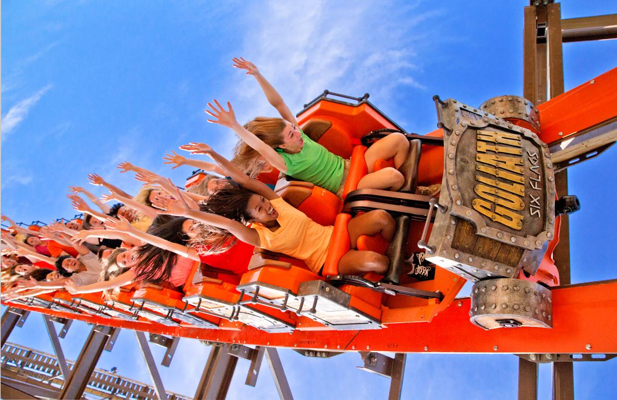 Goliath Roller Coaster