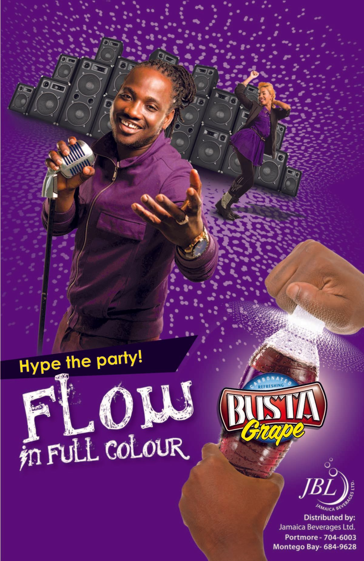 1busta_live_in_full_colour_poster_grape_11in_x_17in_jamaica