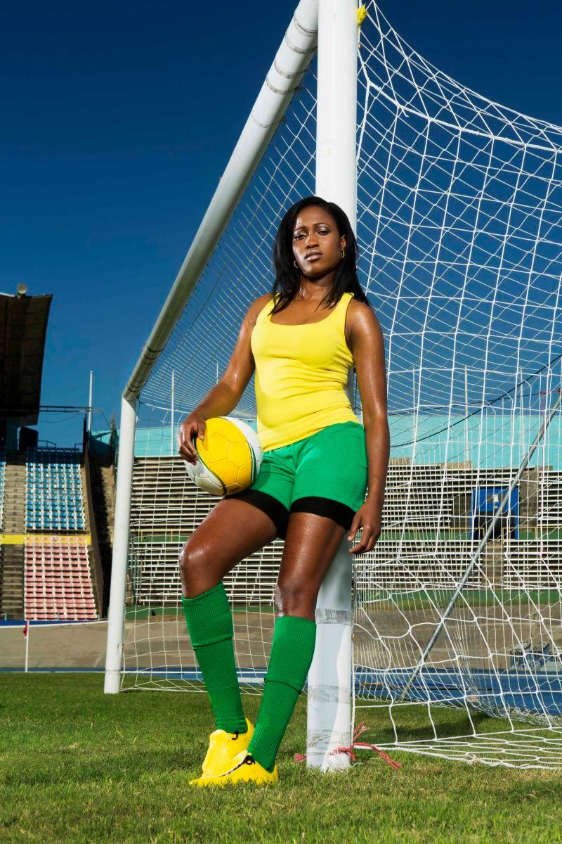 Yolanda Hamilton, Reggae Girlz