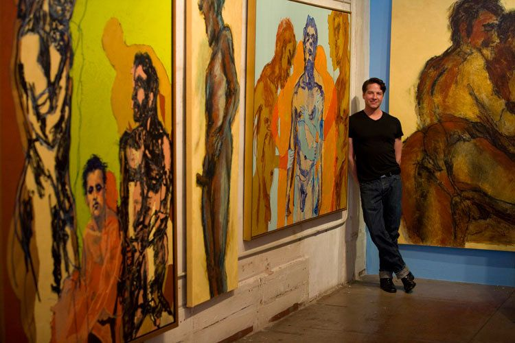 """""""Large Scale Male"""" -Antebellum Gallery, Hollywood, CA. 2008"""