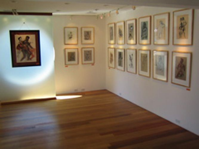 """""""Having Drawn Near: Intimate Works on Paper"""" -Risk Press Gallery, Los Angeles, CA. 2005"""