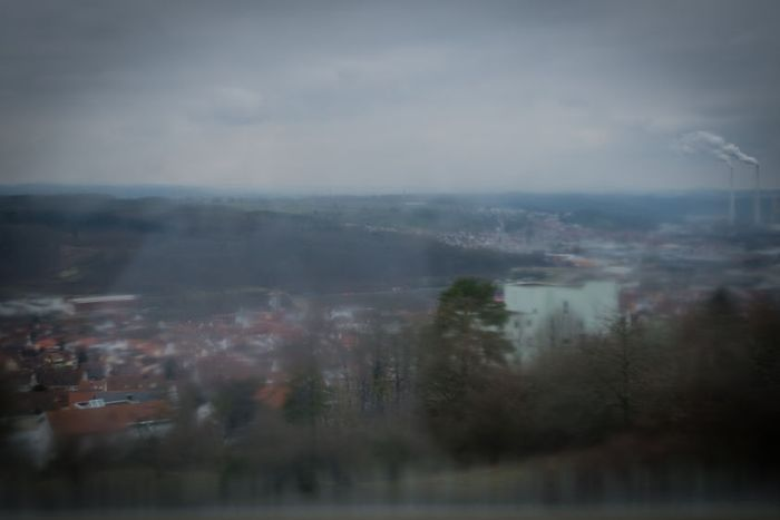 A general view of a town in Baden Wurttemberg where Sarah has moved after escaping from Islamic State captivity in Iraq.