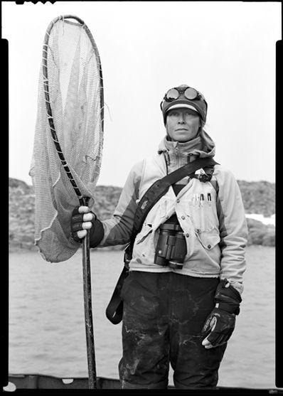 Kristen Gorman, birder