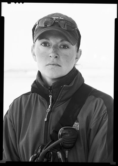 Lisa Trotter, diver, expedition leader