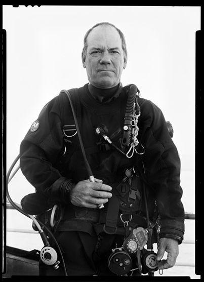 David Cothran, diver