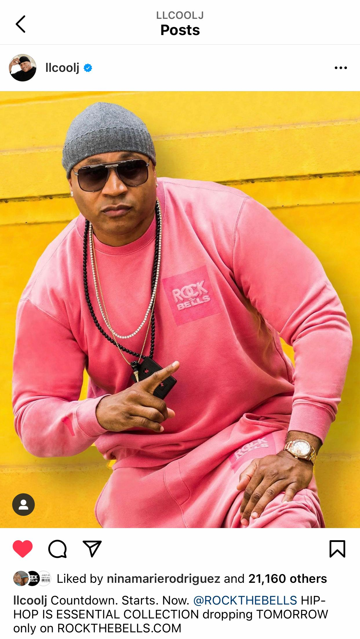 LL Cool J - Shot for the Rock The Bells Hip Hop is Essential Launch