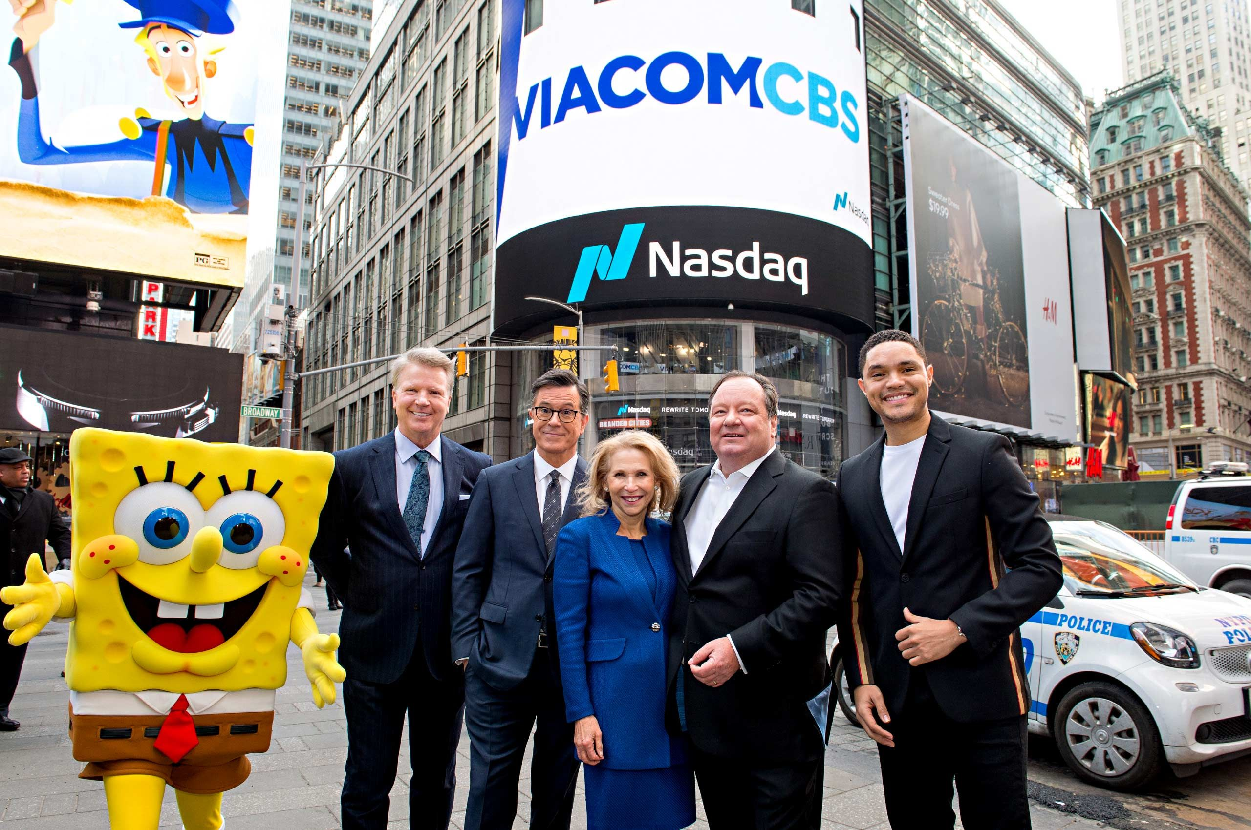 ViacomCBS Merger Day 1