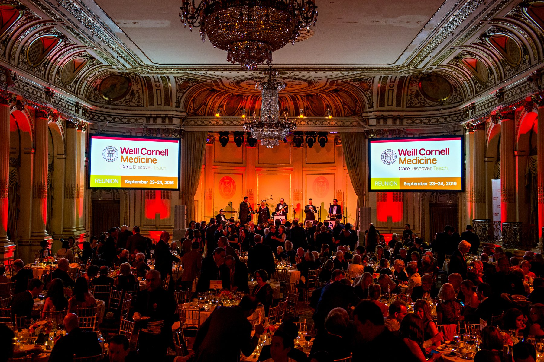 Corporate event photography of Weill Cornell Medicine's Reunion Weekend.