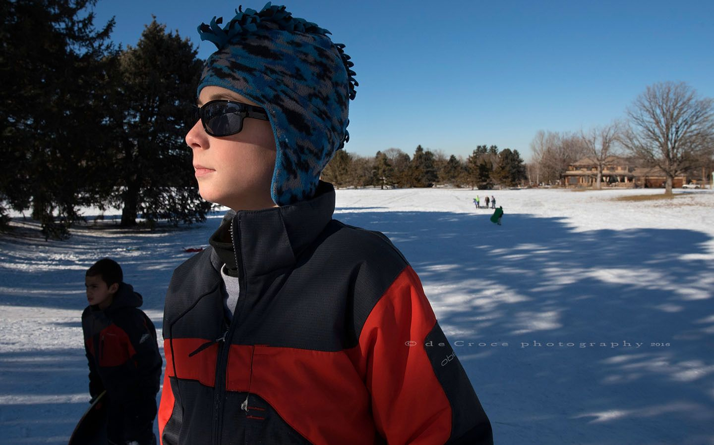 Winter-Light-Portrait-Sledding-Hill