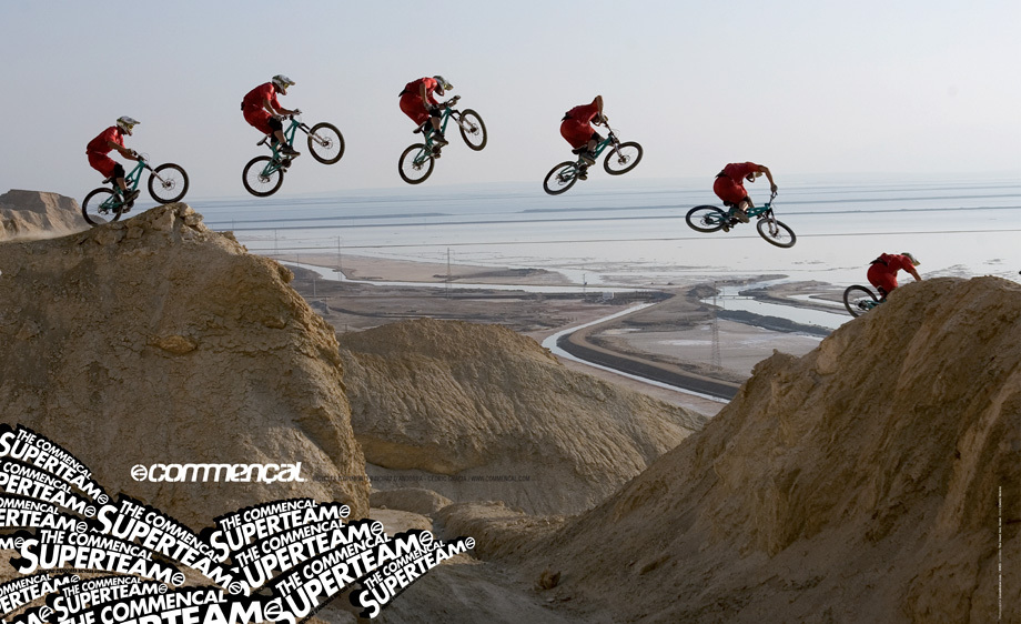 Cedric Gracia for COMMENCAL BIKES