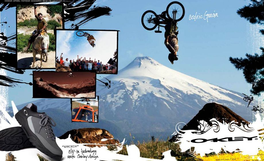 Cedric Gracia in Chile for OAKLEY