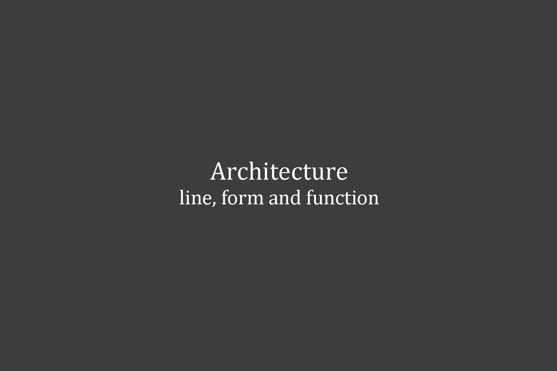 1architecture