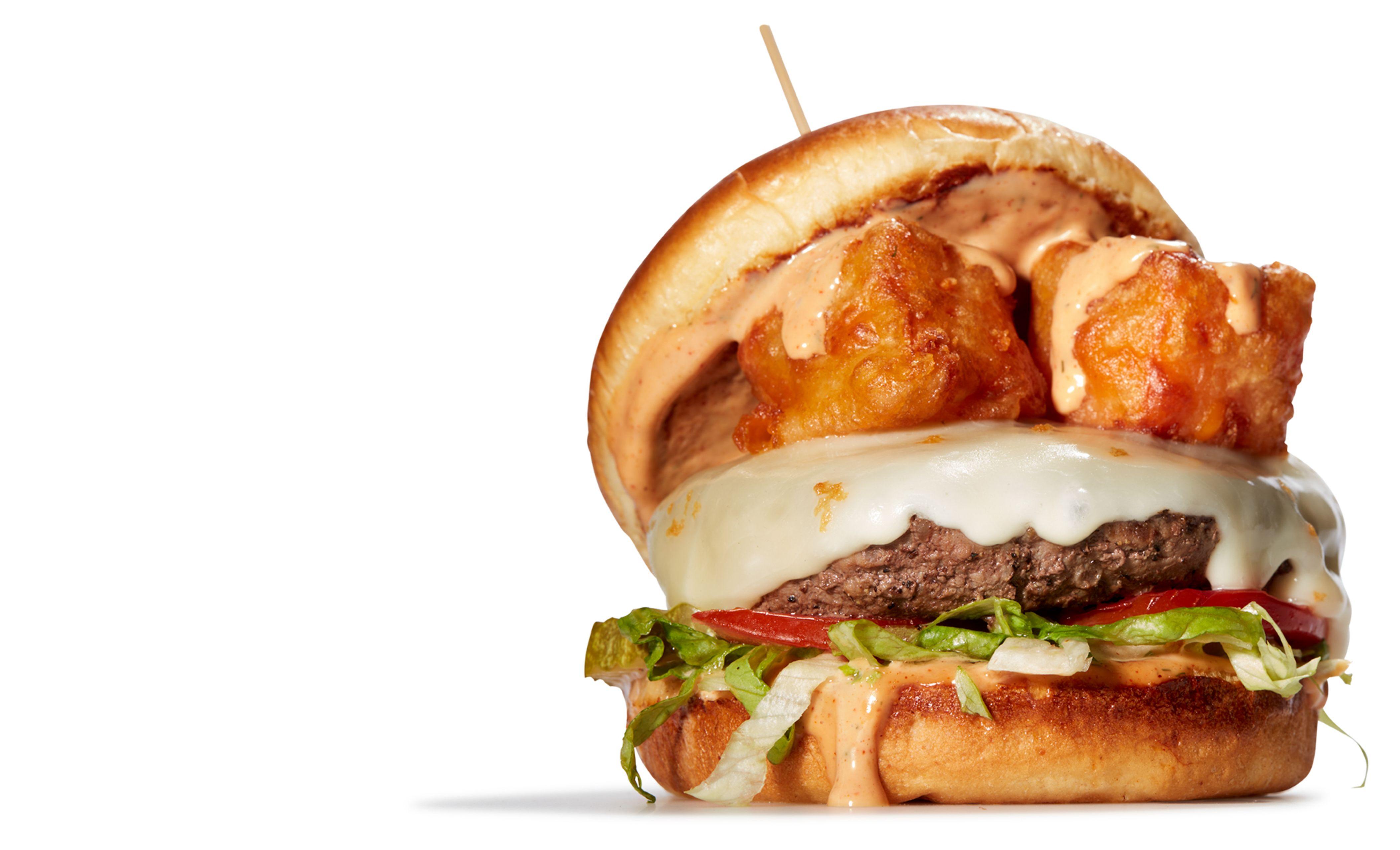 Curd burger!