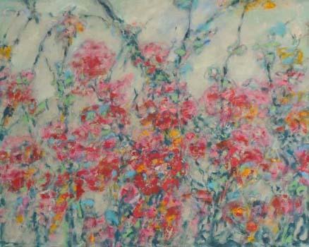"""Foliage II  24"""" x 30""""  o/c"""