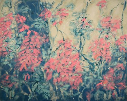 """Foliage III  24"""" x 30""""  o/c"""