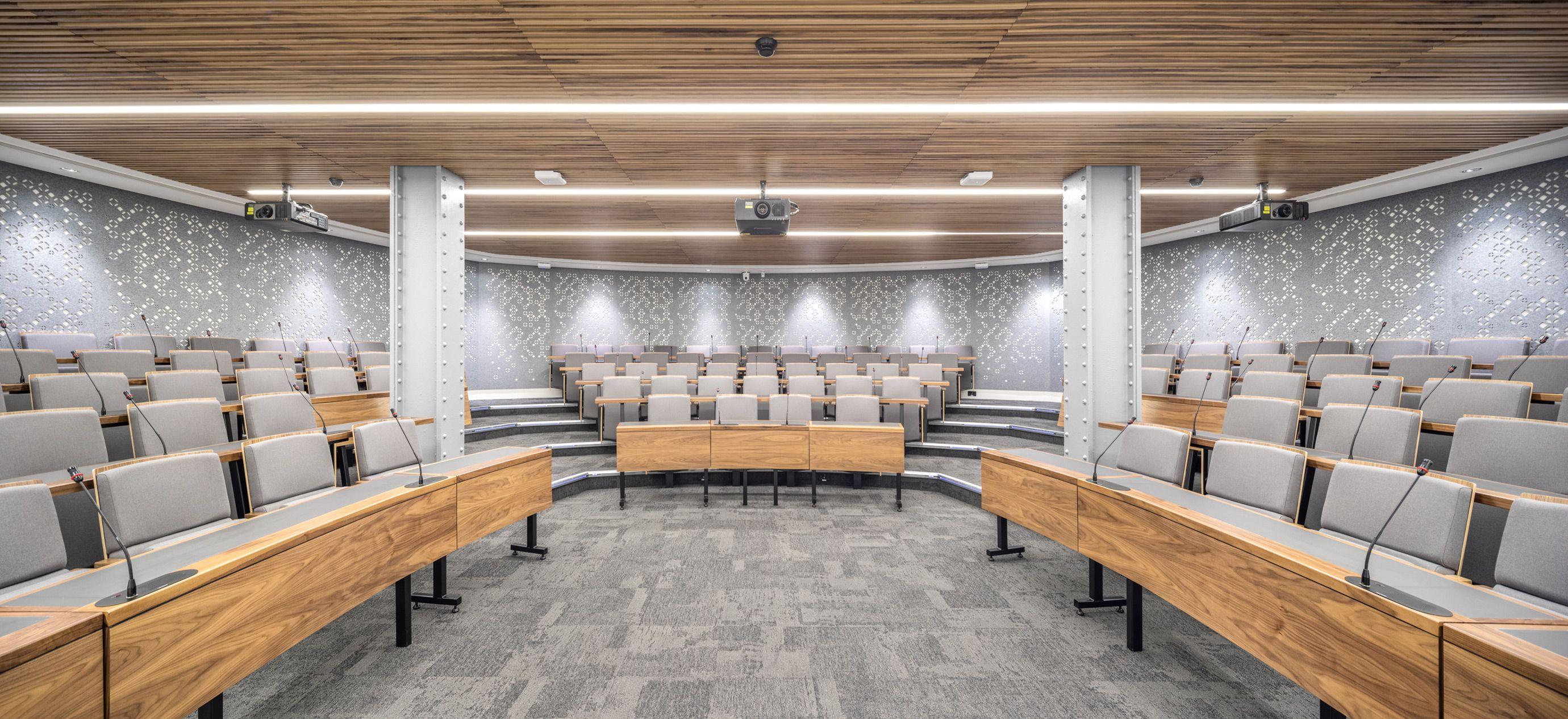 Bush House Lecture Theatre
