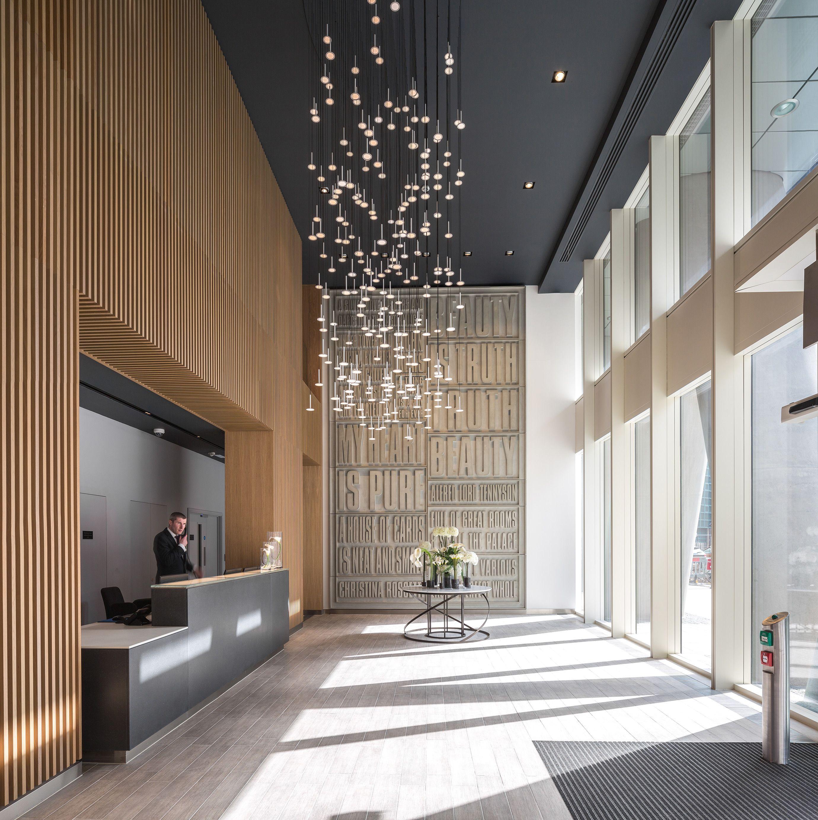 Saffron Tower Conceirge. Client Berkeley Homes/Mass Concrete.
